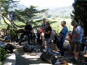 Band at St. Clement Winery