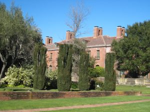 'Filoli House and Gardens, Woodside, California""