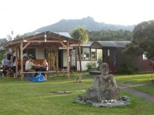 Solscape Eco-resort in Raglan, New Zealand