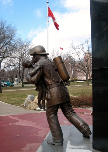 """Toronto Fallen Firefighters Memorial"""