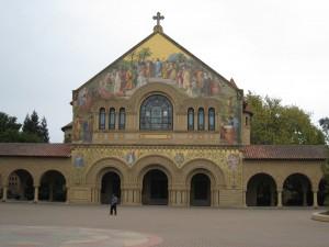 """""""Stanford Chapel in Palo Alto, California"""""""