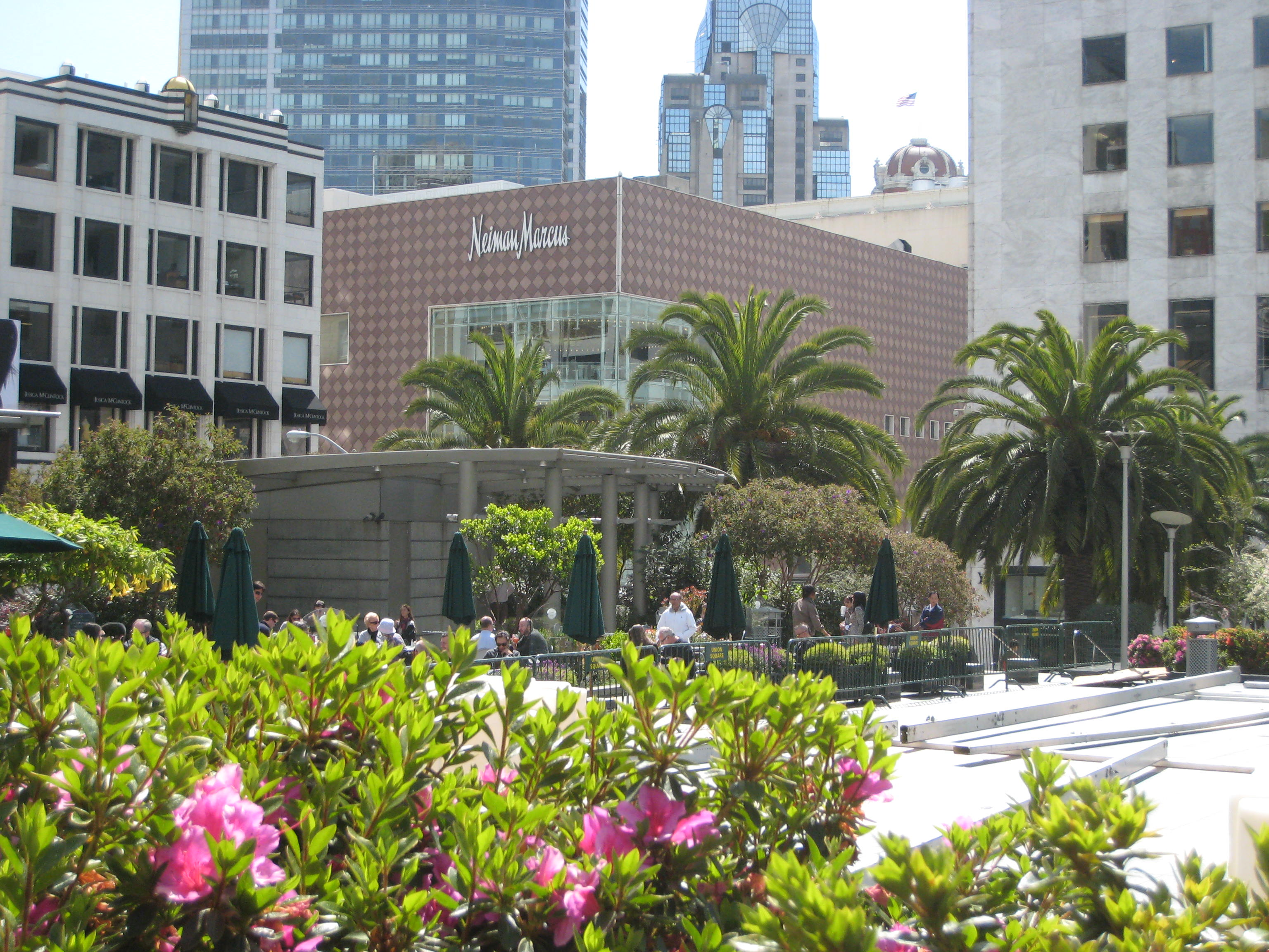 Ferragamo Neiman Marcus Art Hearts Union Square San Francisco