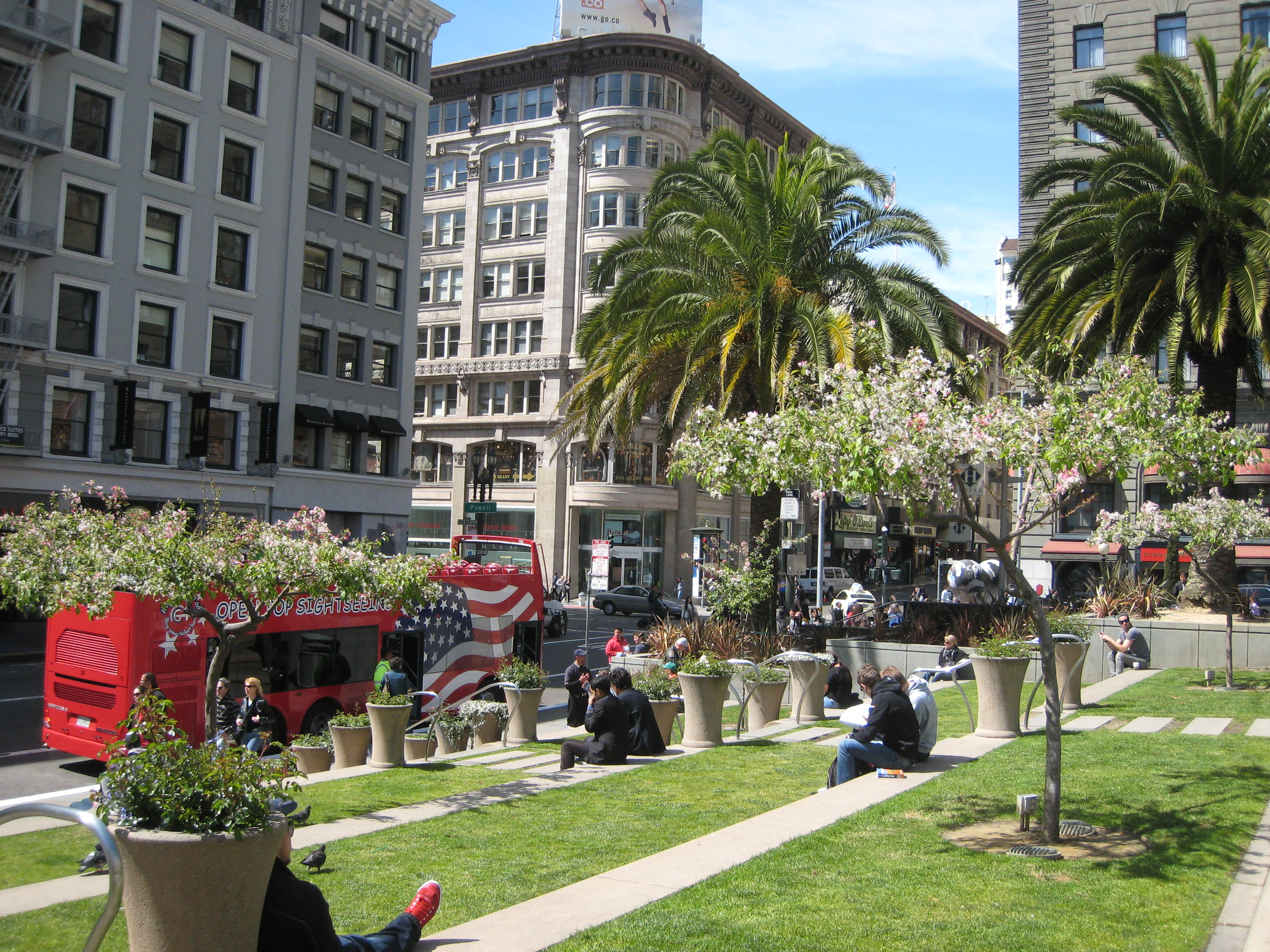Art Hearts At Union Square San Francisco