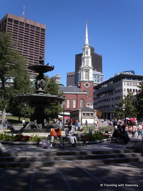"""""""Old and new architecture in Boston, Massachusetts"""""""