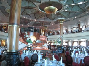 Celebrity Millennium dining room