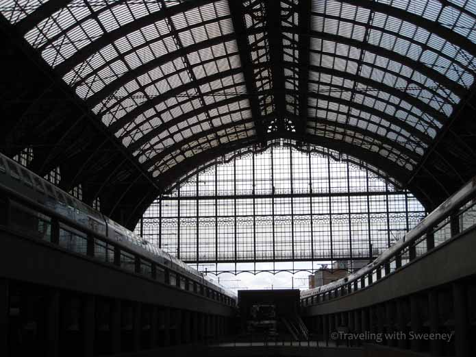"""Known as The Railway Cathedral, Antwerp Central Station is a beautiful work of architecture"""