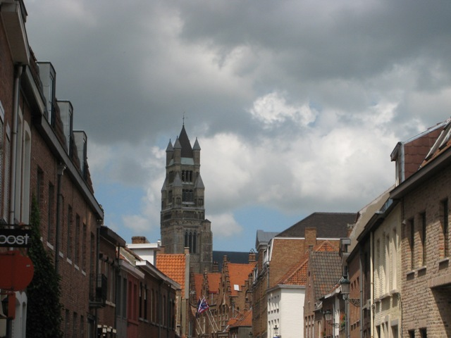 """Sint-Salvator Cathedral in Bruges"""