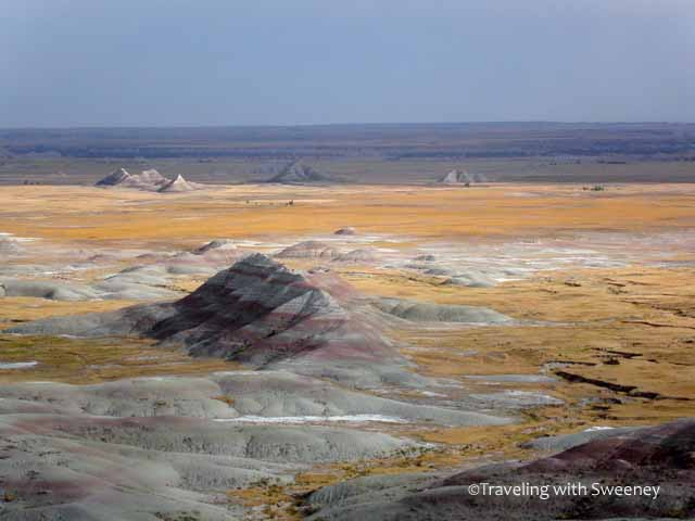 """The surreal landscape of the Badlands South Dakota"""