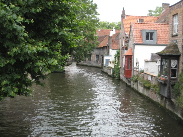 """""""A quiet canal in bruges"""""""