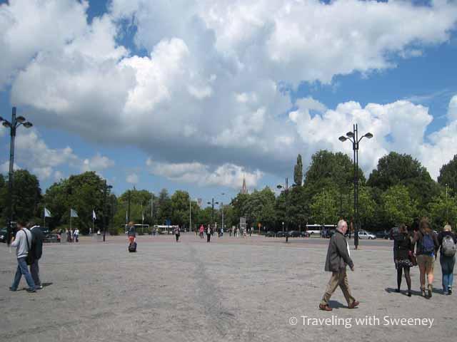 """""""Outside at Bruges Central Station"""""""