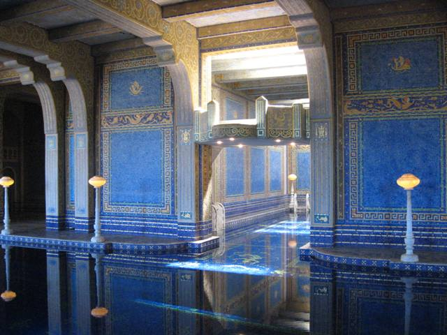 """Roman Pool at Hearst Castle in San Simeon, California"""