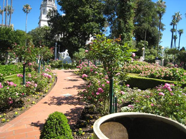 """Lovely grounds at Hearst Castle in San Simeon, California"""