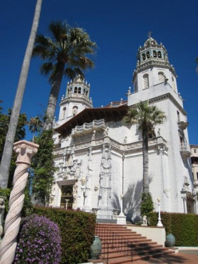 """Casa Grande at Hearst Castle in San Simeon, California"""
