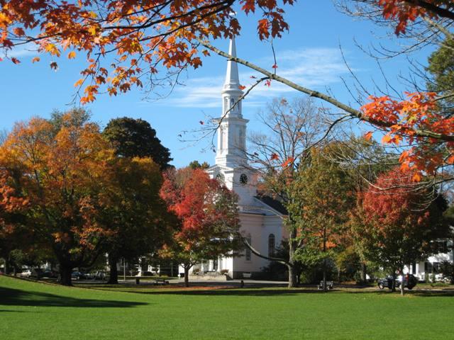 """First Parish Church in Lexington, Massachusetts"""