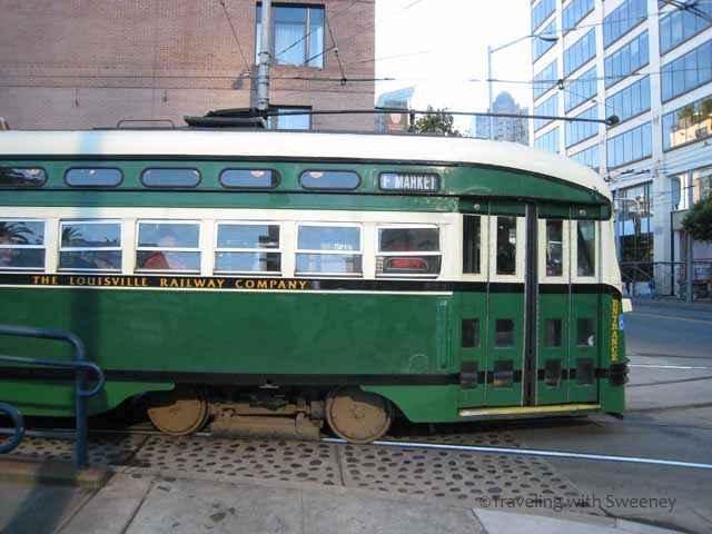 Vintage san francisco streetcars the f line for Car city motors louisville ky
