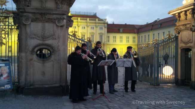 Musicians at Charlottenburg Market, Berlin