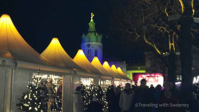 Getting into the spirit of Christmas in Germany at the Charlottenburg Market, Berlin