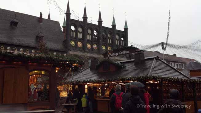 Grillhus at Christmas Market, Lübeck