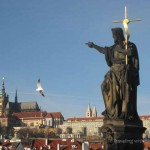 Crossing the Vltava: Prague
