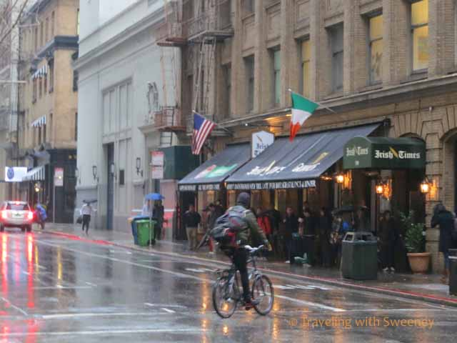 San Francisco in the rain