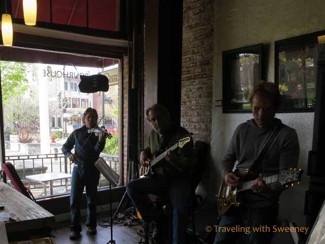 Jim Hurley's band at The Winemaker's Pourhouse