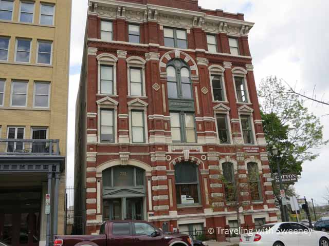 Cotton Exchange Building in Historic District