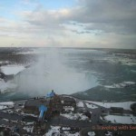 Chilly Scenes of Niagara Falls in Winter