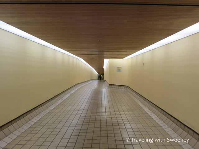 Houston tunnel at Hyatt Regency Hotel