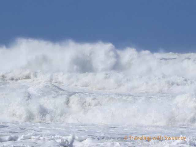 waves at Mavericks