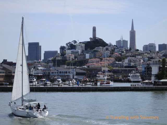 San Francisco Skyline from Fisherman's Wharf