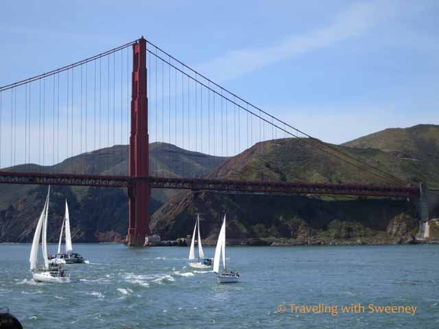 Boats on San Francisco Bay
