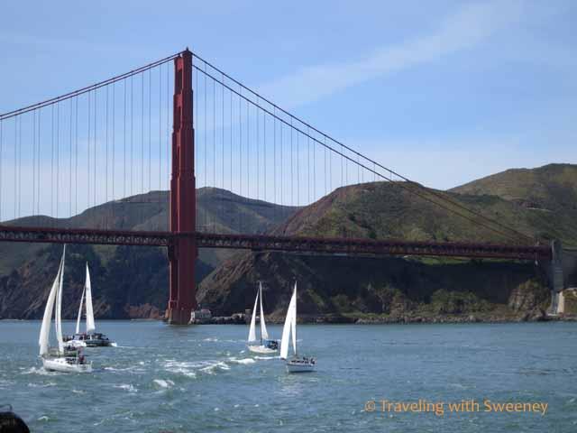 Boats on San Francisco Bay