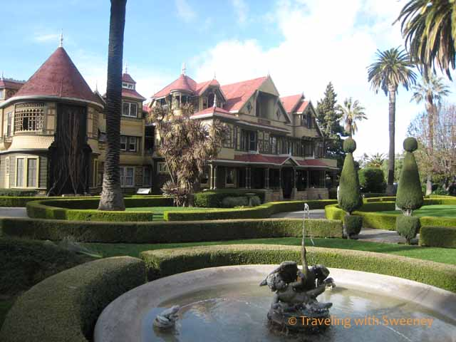 Winchester Mystery House in San Jose, California -- things to do south of San Francisco