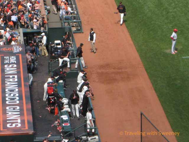 San Francisco Giants Dugout