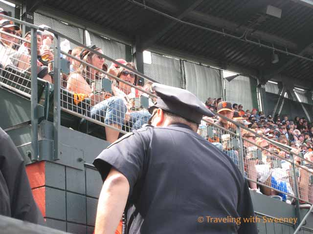 Police Officer at AT&T Park