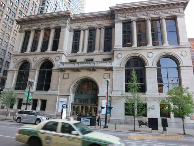 Chicago Cultural Center on Washington Street