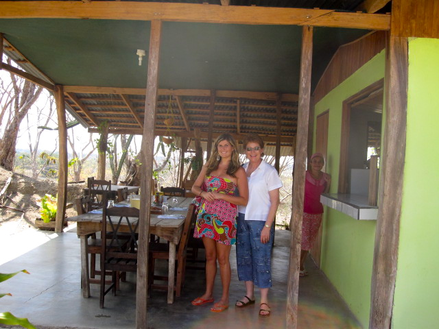 Abby Tegnelia and Mom in Costa Rica
