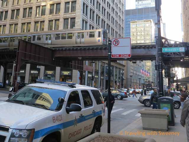 The L in the Chicago Loop