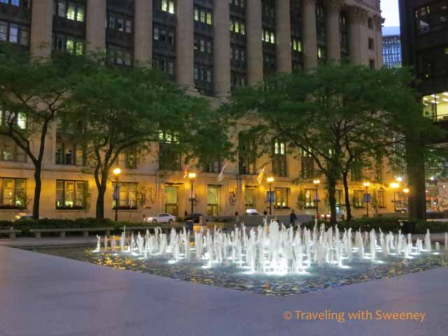 Fountain at Daley Plaza