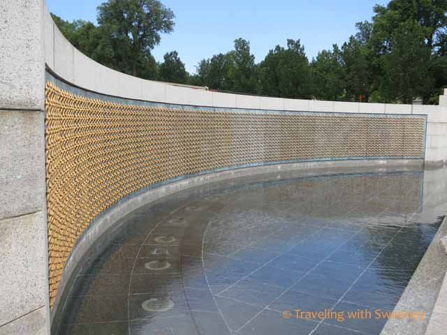 Gold Stars on Freedom Wall