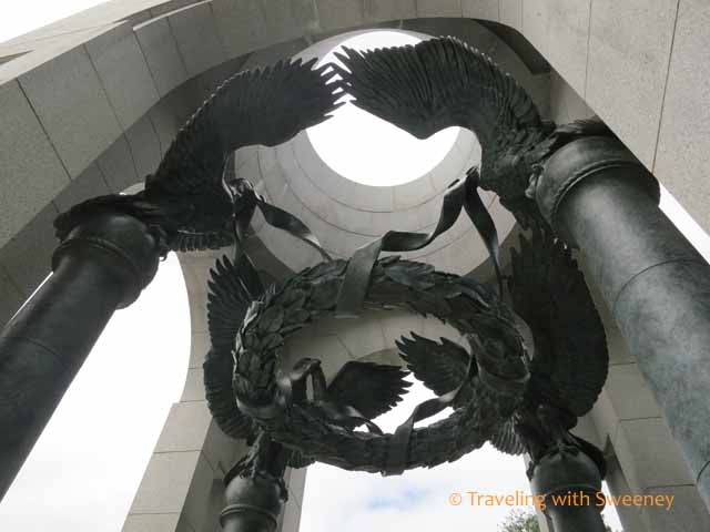 American Eagles in World War II Memorial Pavilion