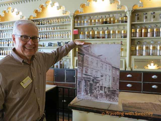 Ken Miller at Apothecary Museum