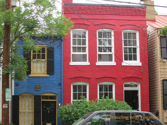 Historic houses in Alexandria, Virginia