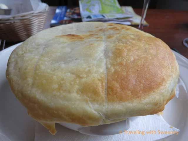 Martha Washington's Cock a Leekie Pie Recipe