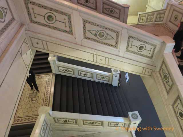 Staircase at Chicago Cultural Center
