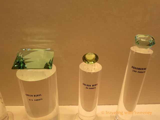 Cut Gemstones at Lizzadro Museum of Lapidary Art