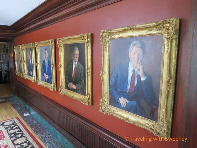 Presidential Portraits at Occidental Grill and Seafood