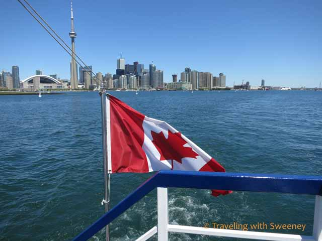Toronto Harbour from Harbour Star