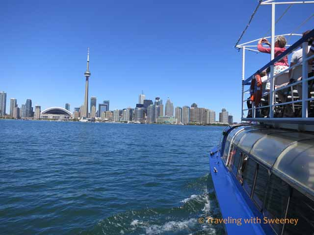 Toronto Skyline from Harbour Star