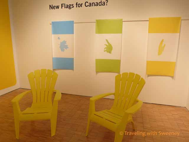 New Flags for Canada, Ideas of Canada Exhibit